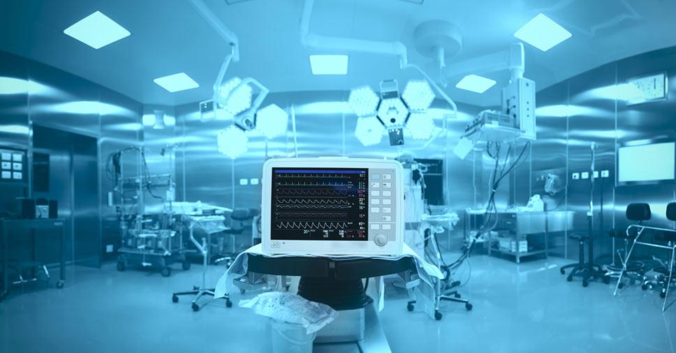 equipamentos médicos e hospitalares