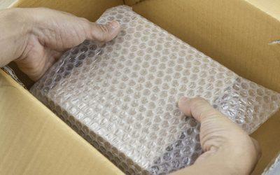 Como embalar objetos frágeis para a mudança?