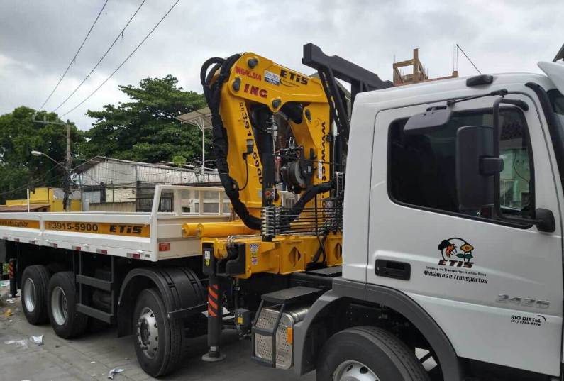 Locação de Caminhão Munck no Rio de Janeiro
